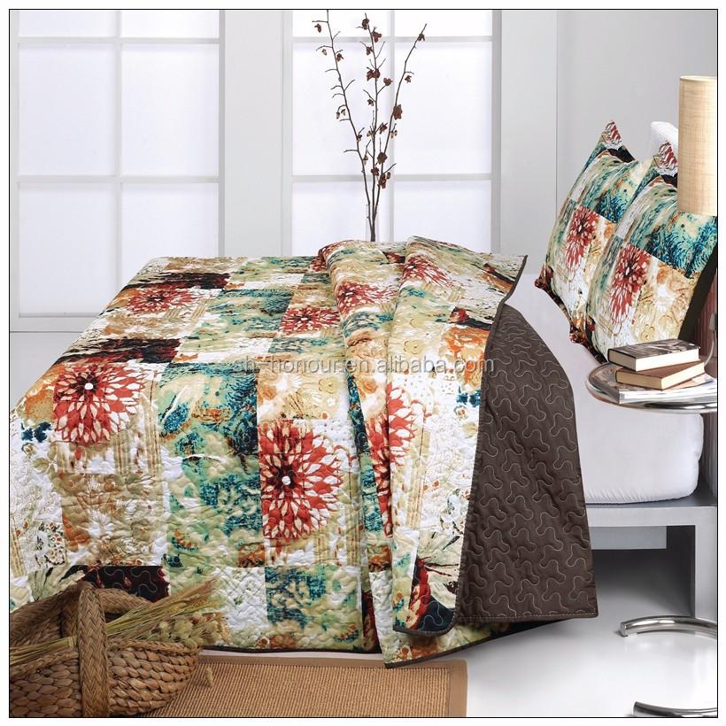 lujo algodn de corea hoja de cama colcha de retazos