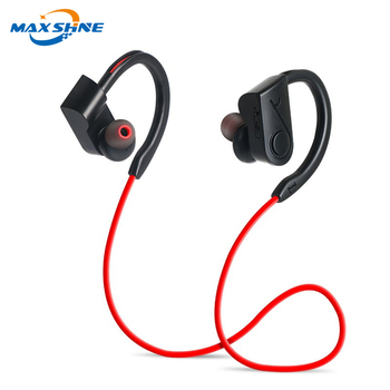 Maxshine 2018 listen music sports blue tooth wireless headphones with brand logo blue tooth headset with vibration