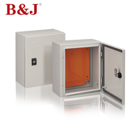 B&J Wall Mount Enclosure RAL7035 Electrical Distribution Board