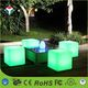 40cm Mood Light RGB Color Changing IP68 Waterproof LED Cube chair Lighting