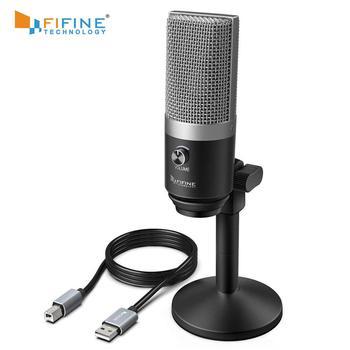 fifine usb pc microphone k670 for mac windows computers buy usb microphone pc microphone. Black Bedroom Furniture Sets. Home Design Ideas