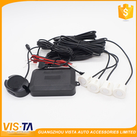 Safety warning multi-color 12v car parking lot sensor system