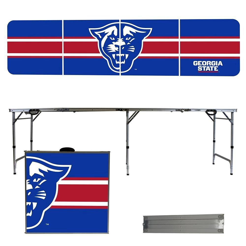 NCAA Georgia State University Panthers Stripe Version 8' Folding Tailgate Table
