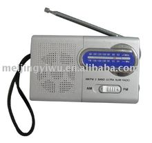 K-119 굿 quality am/fm small shape <span class=keywords><strong>휴대용</strong></span> radio made in china
