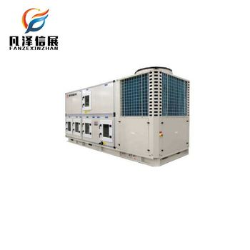 Hvac package unit online control make up air