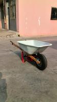 Electric wheelbarrow with wood handle/wheelbarrow