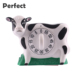 rohs timer plastic ABS bionic cow shaped countdown timer