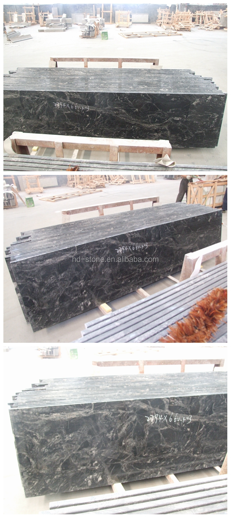 India Black Granite Ganges Black Granite Kitchen Countertop Granite Countertop