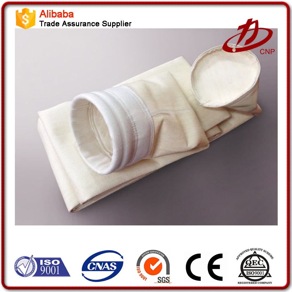 High Temperature Filter Bag / Air Filtration / Fiberglass