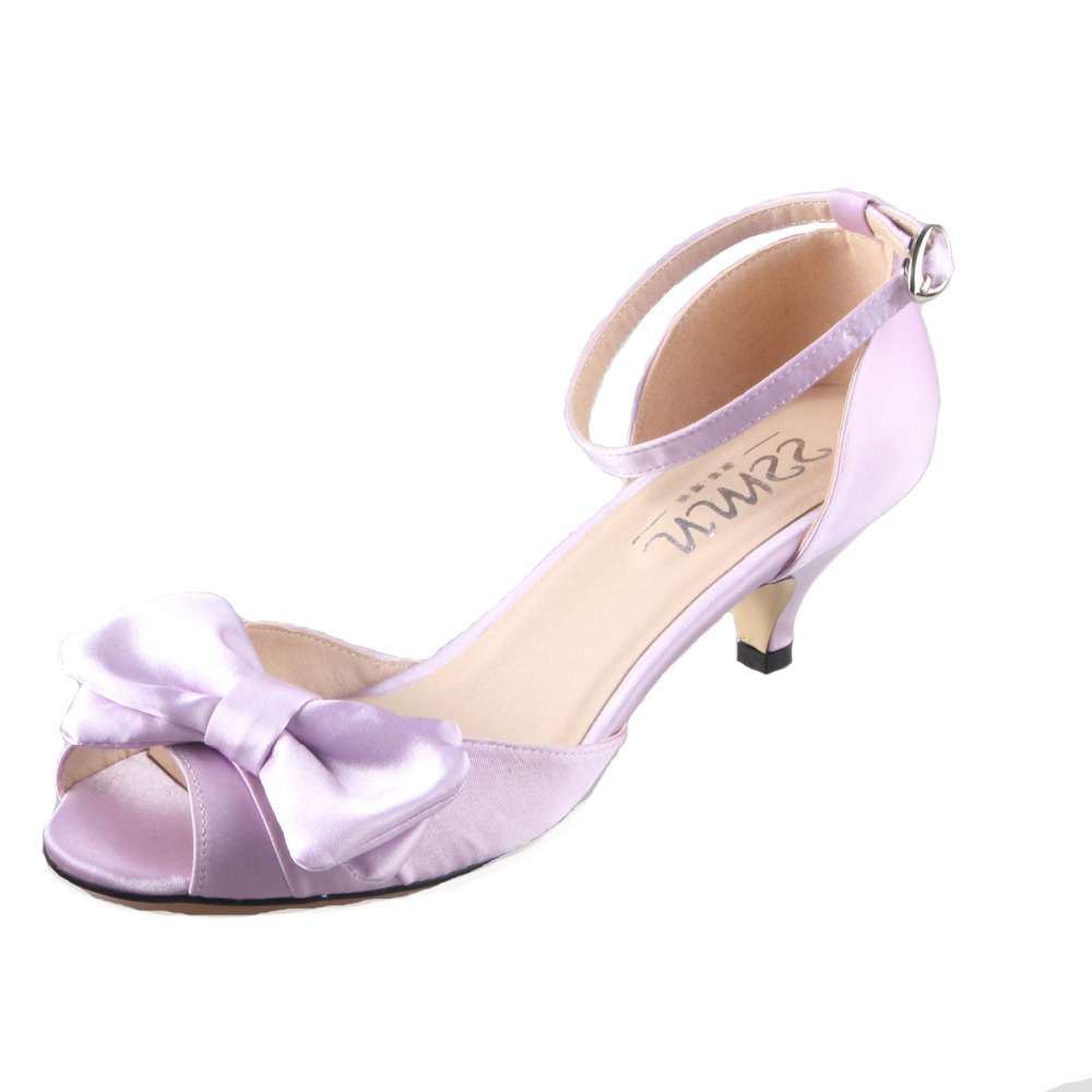 Big Bow Wedding Shoes