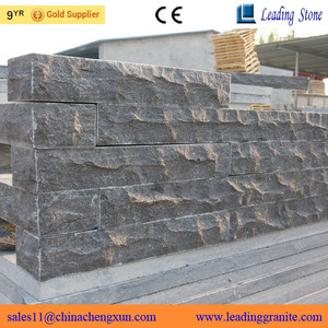 Natural Chinese blue limestone exterior stone wall cladding