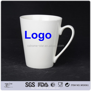 cheap oem ceramic coffee mugs with custom logo in different sizes