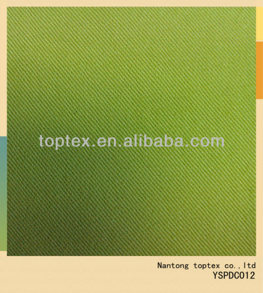 20x16 128x60 solid dyed brushed cotton fabric /green color very young/ brushed cotton twill fabric