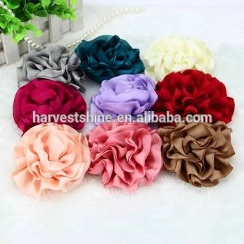 Decorative Handmade Fabric Flowers For Dresses