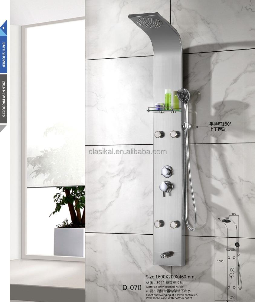 Diseo duchas plato de ducha con diseo extraplano with for Duchas modernas precios