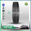 Chinese used truck tire for Canada hot sale tires High quality 11r22.5 and 11r24.5