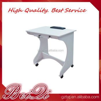Elegant practical salon furniture china nail technician for Folding nail technician table