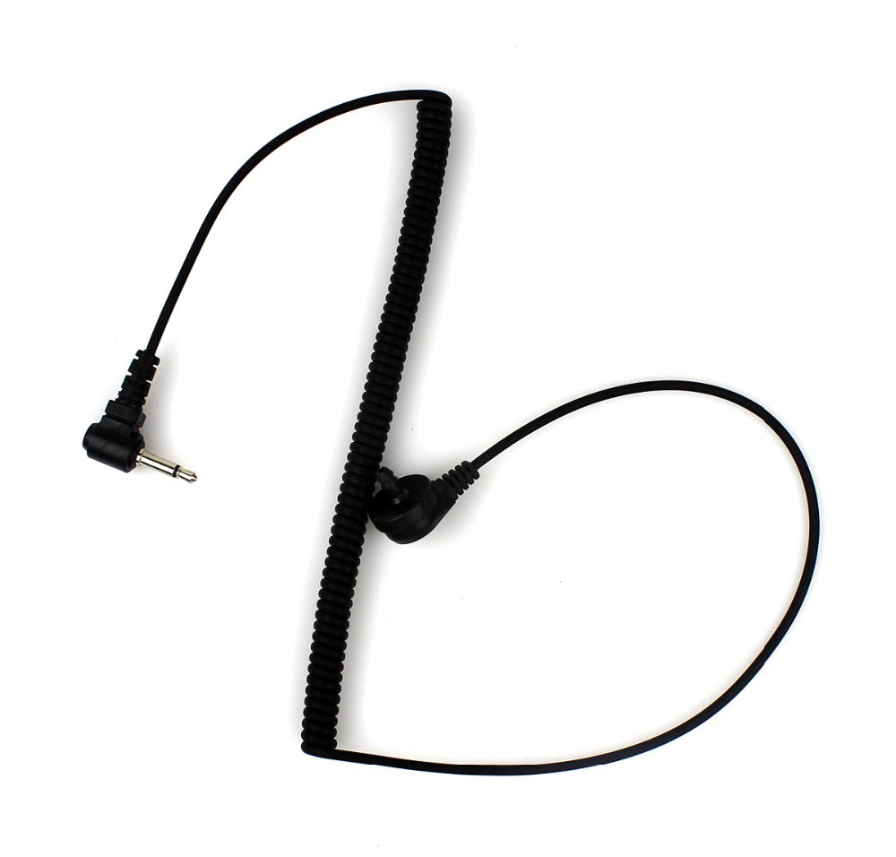 New 3 5mm Listen Only Acoustic Tube Earpiece Connect to Mic HoT Model  Walkie talkie interphone C0017A