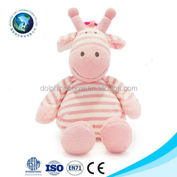 Best Made Toys Plush Pink Cow Toy Stuffed Animal With Sound Buy