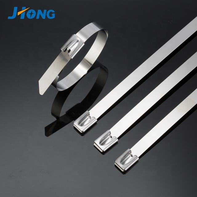 China supplier self locking sus 201 304 316 stainless steel cable <strong>ties</strong>