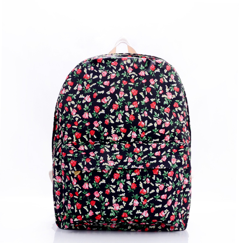 1c177f3fb438 Cheap Flower Print Canvas Backpack, find Flower Print Canvas ...