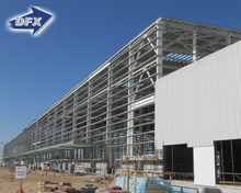 Low Cost Prefab Light Steel Structure Construction Building Quick Build Warehouse