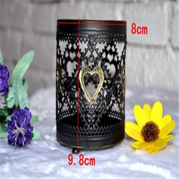 New design christmas gift metal candle holder in decoration