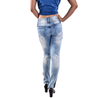 rock revival jeans moto denim trousers fabric for pants women pregnant