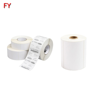 Free sample thermal transfer label roll custom thermo label