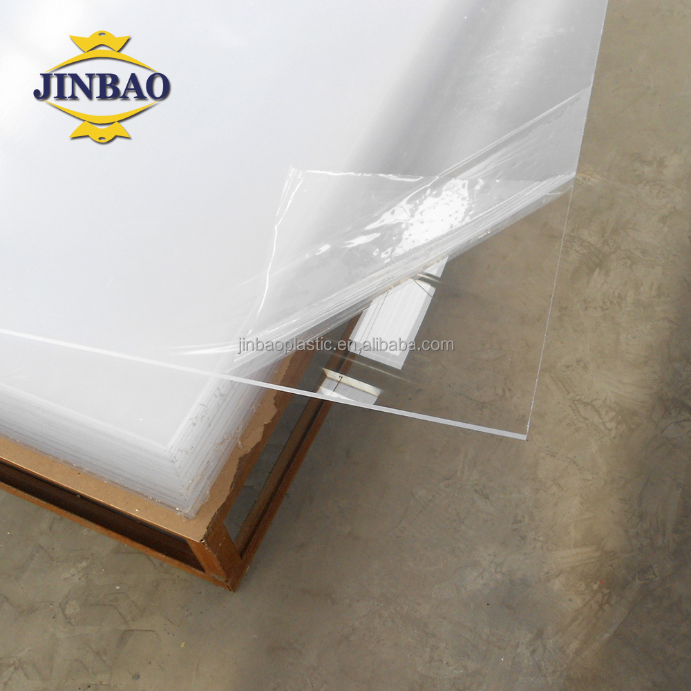 JINBAO fabriek 2mm 8mm acrilico vel/panel/plaat/custom100 % transparente acrilico acryl