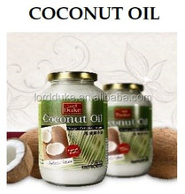 Lordduke Thailand 100% Pure Cold Pressed Organic mct Virgin Coconut Oil