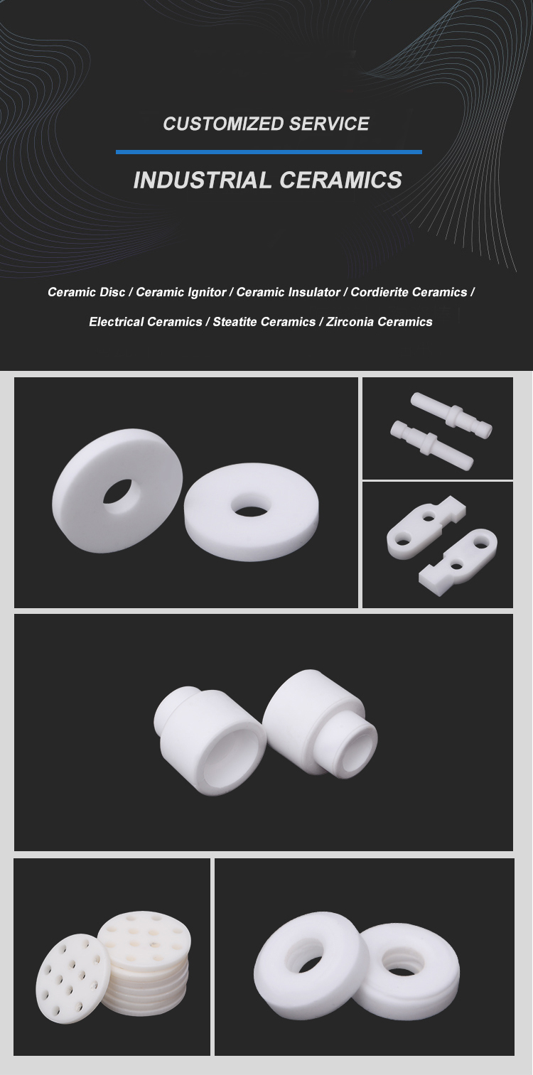 High quality  alumina ceramic insulator
