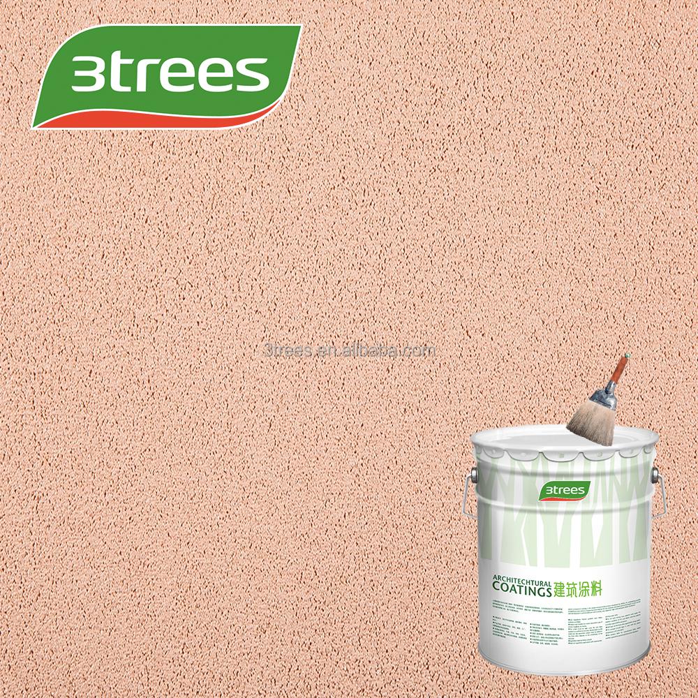 3trees Low Voc Architectural Design Exterior Rough Texture Paint ...