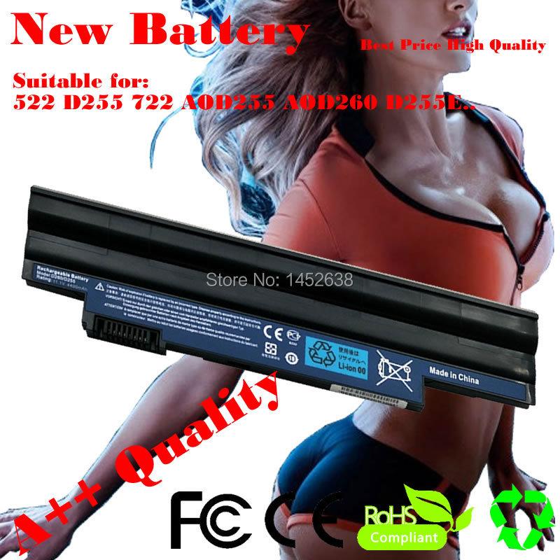 5200 мАч аккумулятор для ноутбука Acer Aspire One 522 D255 722 AOD255 AOD260 D255E D257 D260 D270 AL10A31 AL10B31 AL10G31