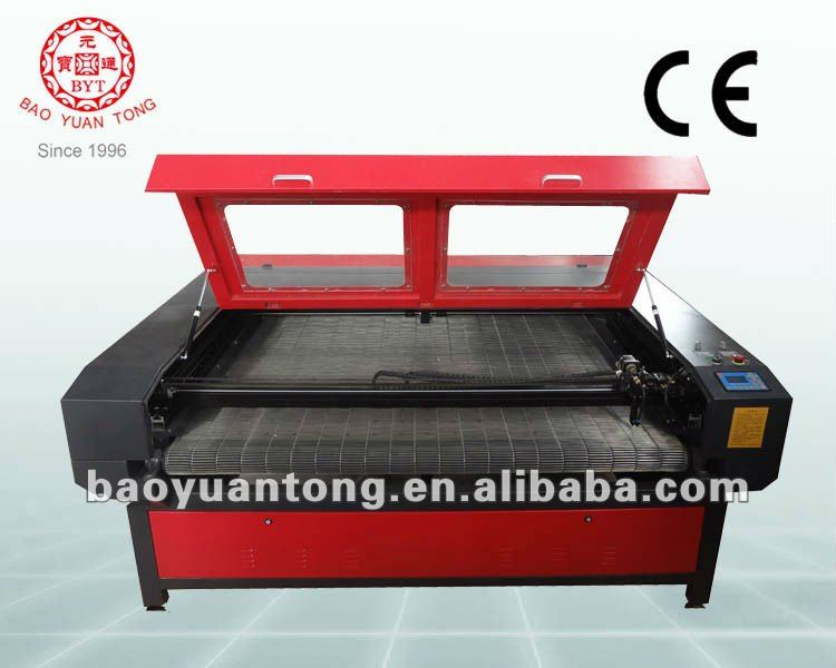 2012 automatic feed laser cutting machine for fabric and leather