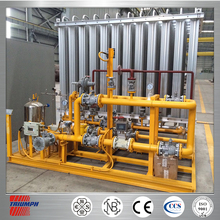 Lng gas riduzione skid- montato per luyuan gas naturale& Power co., ltd