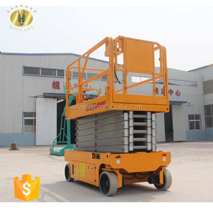 7LGTJZ Shandong SevenLift self-propelled towable step scissor ladder