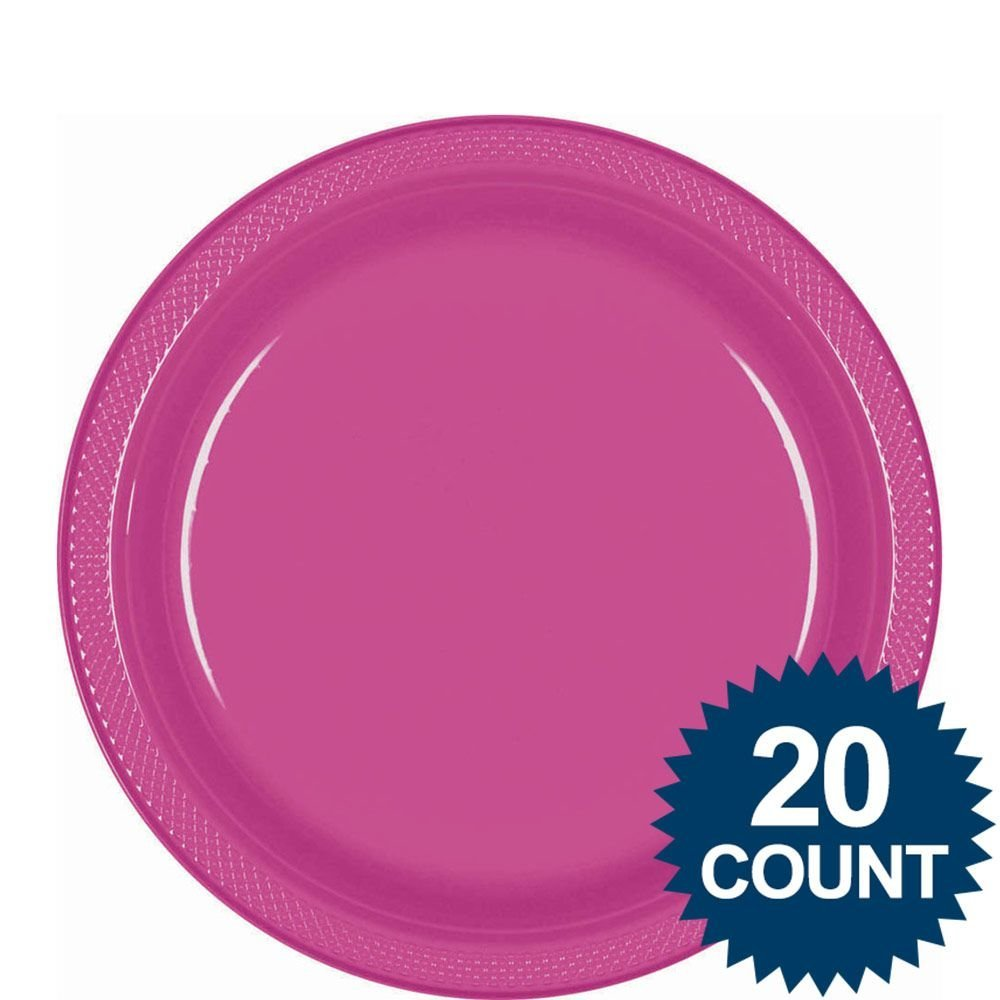 Get Quotations · Hot Pink 9  Plastic Luncheon Plates (20 ...  sc 1 st  Alibaba & Cheap Hot Pink Plastic Plates find Hot Pink Plastic Plates deals on ...
