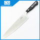 Long 9.5-Inch Chef Knife By Homeful Cooking Ultra Sharp Steel Blade Best for Mincing, Dicing and Slicing