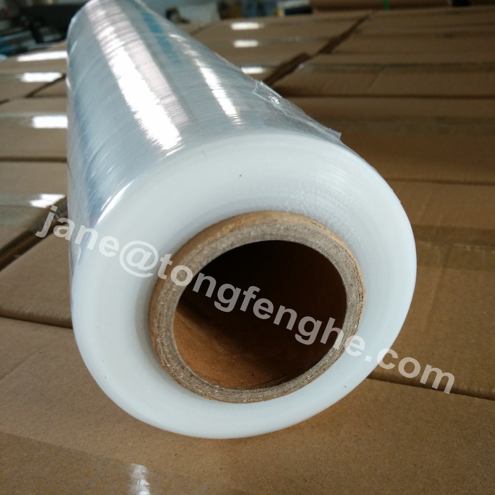 500mm x 15/17/20mic LLDPE Plastic Roll Film To Wrap Boxes