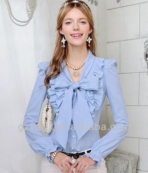 f317252ac812 Señoras Nuevo Modelo Cuello Blusas Mujeres Blusa Modelo Para El Uniforme -  Buy Modelo Blusa De Uniforme,Señoras Blusa Modelo,Modelo Nuevo Cuello ...