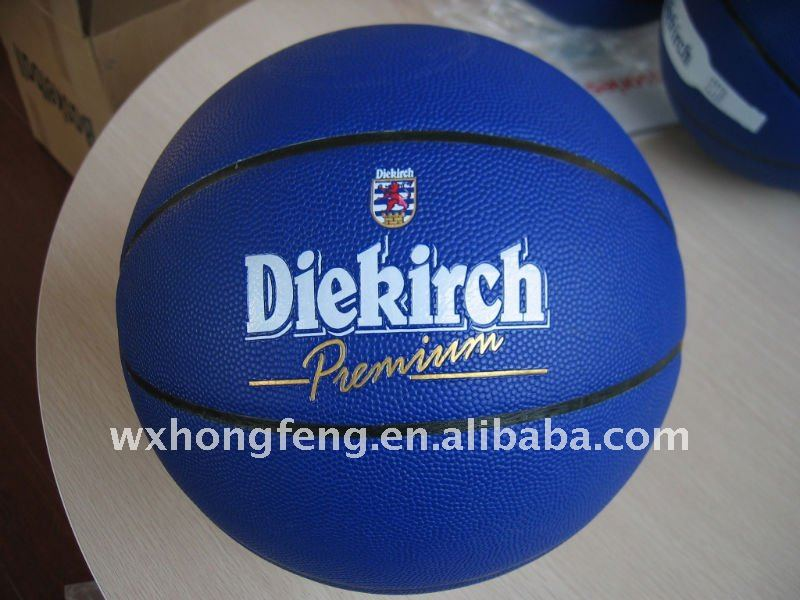 laminated synthetic leather basketball