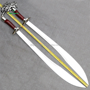 Chinese traditional Wushu Weapon Twin Broadsword