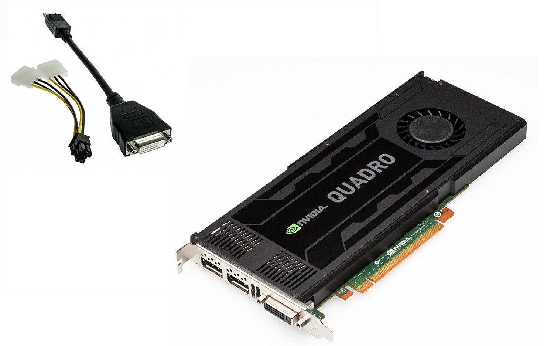 "Nvidia Quadro K4000 - Graphics Card - Quadro K4000 - 3 Gb Gddr5 - Pcie 2.0 X16 - Dvi, 2 X Displayport ""Product Type: Computer Components/Video Cards & Adapters"""