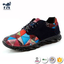 XGY-014-Assorted color round head fashion blade running shoes men