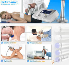 Shock Wave Therapy Equipment for achilles tendon / plantar fasciitis / painful shoulder and back cervical pain