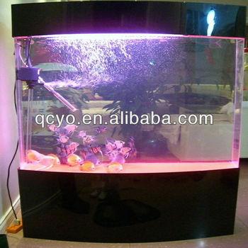Custom plastic fish tank large plastic fish tank for home for Wide fish tank
