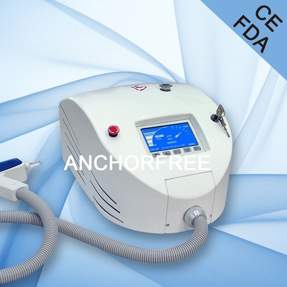 Q Switch Nd Yag Laser Colourful Tattoo Removal Professional 13 Years Factory
