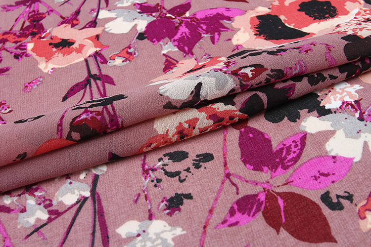 China gold supplier new design custom woven 100% polyester high quality wholesale chiffon fabric