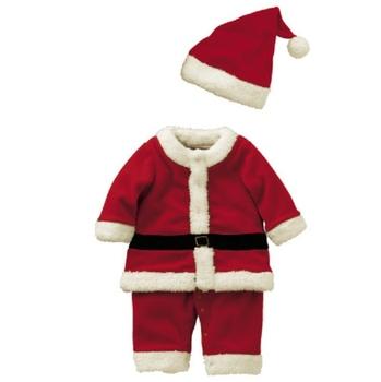 fc2174dae27834 Baby boy kerst kostuum kleding/kinderen Winter Suits Groothandel Kerstman  pak baby kerst kleding